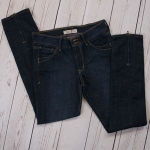 Old Navy Jeans High-Rise Dark-Wash Ankle Zip Jeans